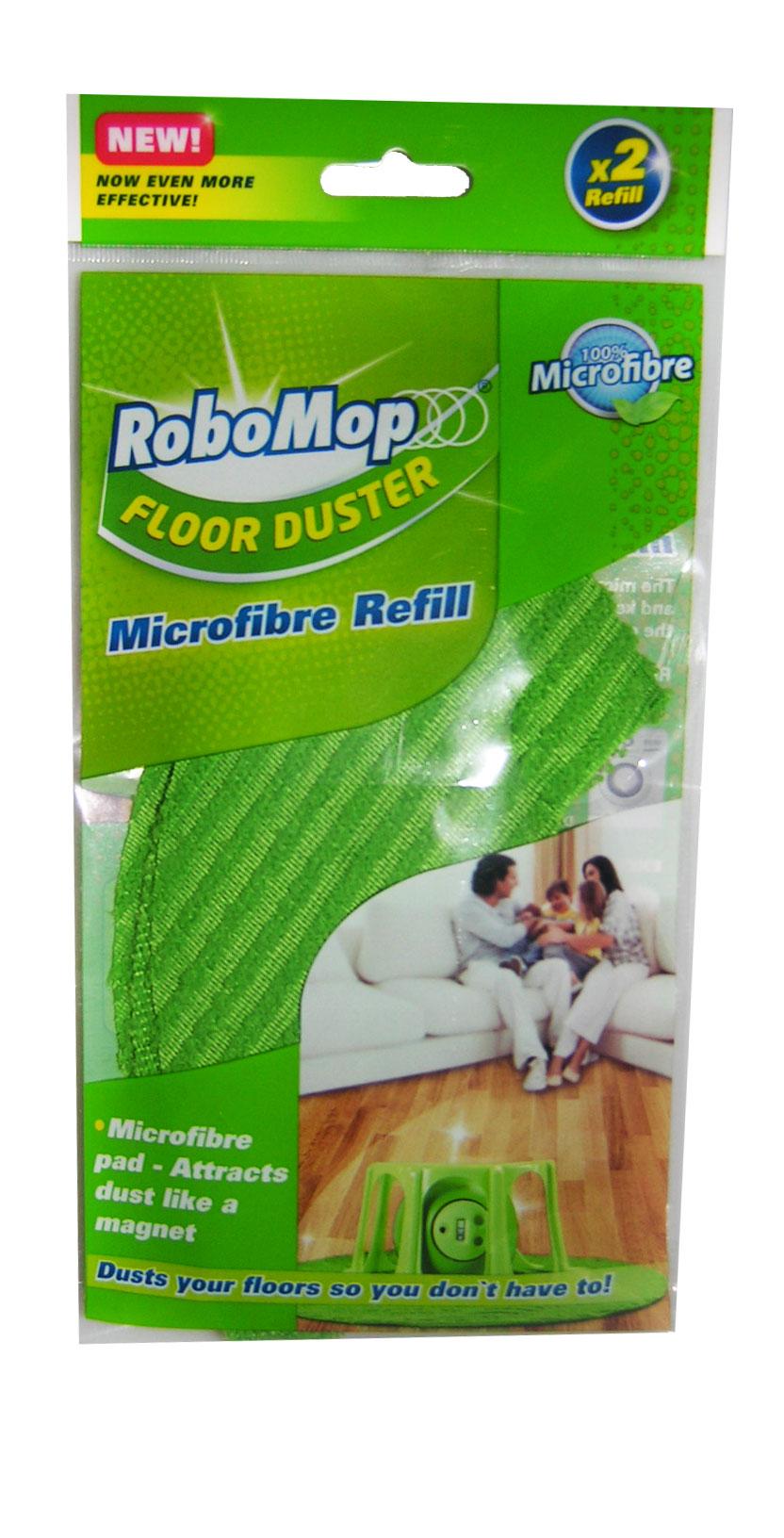 Robomop, pestävä mikrokuituliina (2 kpl)