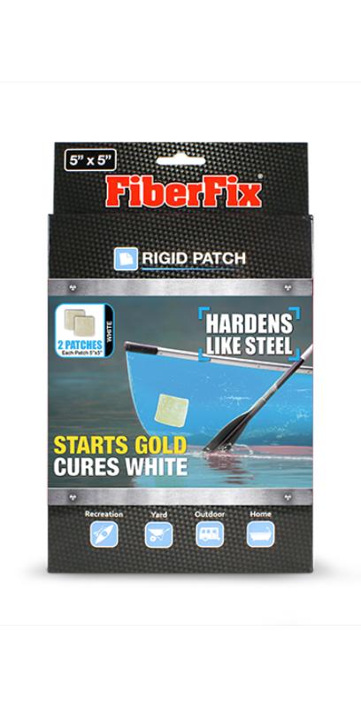 FiberFix Rigid Patch 12,5×12,5cm paikkalappu