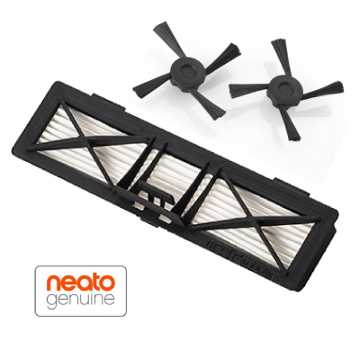 Neato Botvac Ultra Performance suodatin (1kpl) + Botvac sivuharjat (2kpl)
