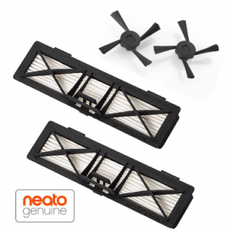 Neato Botvac Ultra Performance suodattimet (2kpl) + Botvac sivuharjat (2kpl)