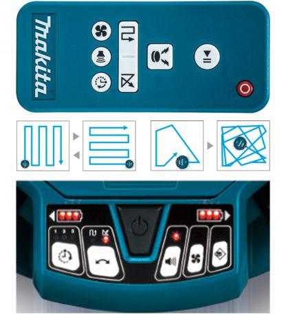 Makita DRC200Z 2X18V robotti-imuri
