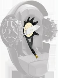 Robomow RX Lehtikatteen puhdistin